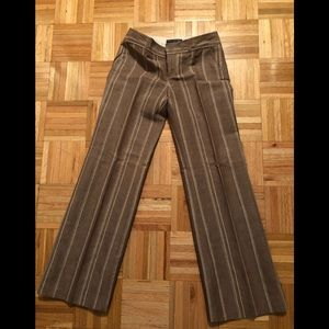 Banana Republic Pants - Banana republic brown and cream dress pants